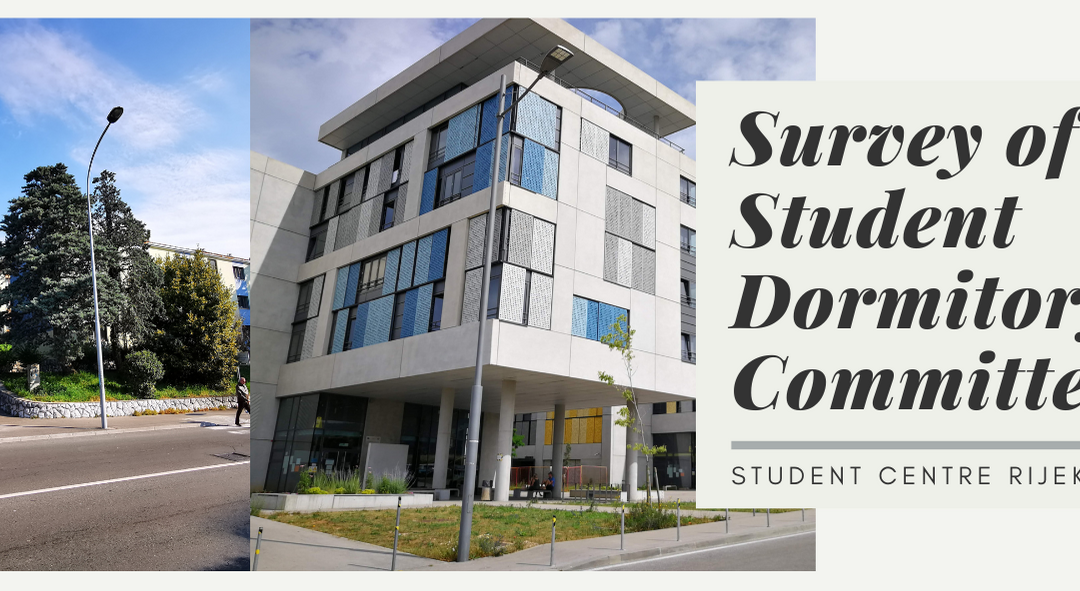 Are you happy with your life in the student dormitory? Fill out the survey and let us know!