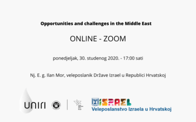 Opportunities and challenges in the Middle East – Nj. E. g. Ilan Mor