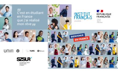 Prezentaciju stipendija Vlade Francuske  Republike & Predstavljanje mogućnosti studiranja u Francuskoj!